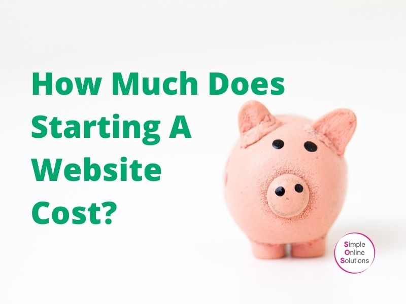 How Much Does Starting A Website Cost?