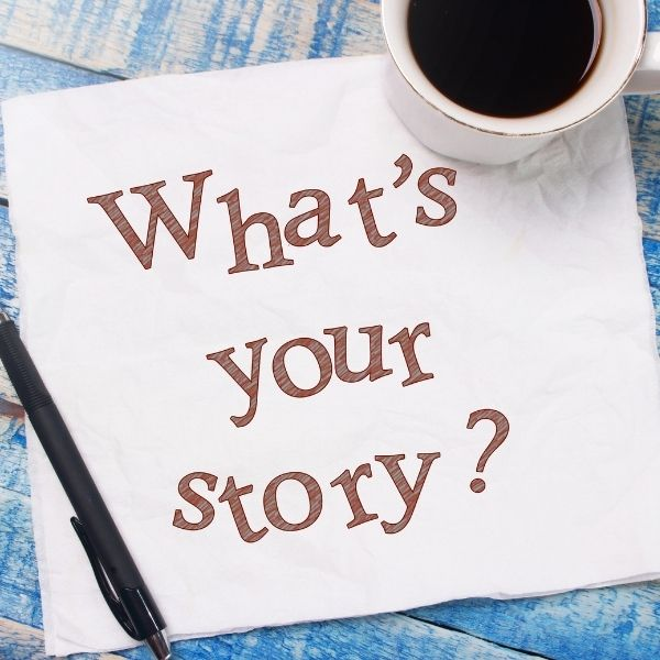 People love a good story, include yours on your About Me page