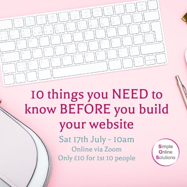 10 things you need to know before you build your website