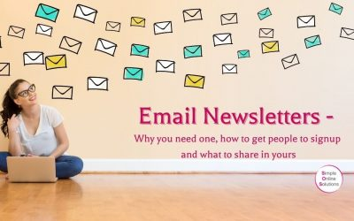 Email Newsletters – Why, How and What To Include