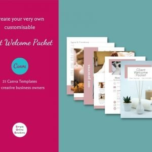 Client Welcome Packet - Canva template